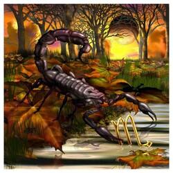 Зодия Скорпион 30/30 см