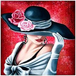 Жена с шапка 40/50 см