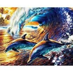 Делфини  40/30 см
