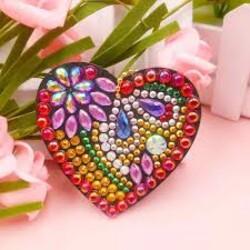 Диамантено Сърце - аксесоар