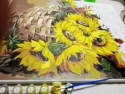 Слънчогледи в кошница 50/40 см