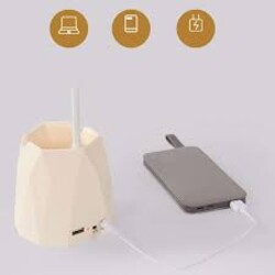 Лед лампа с USB кабел