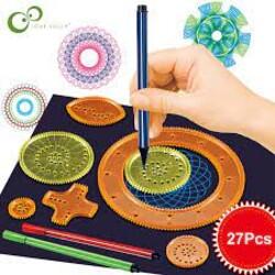 Комплект за рисуване на Мандала