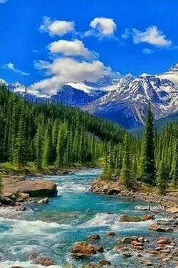 Река в планината 30/40 см