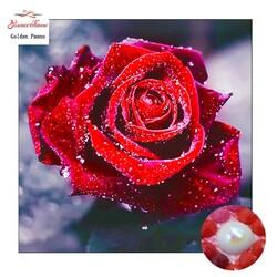 Червена роза 25/25 см
