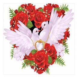 Символът на любовта 30/30 см