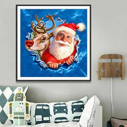Дядо Коледа  30/30 см
