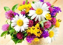 Букет цветя 40/30 см