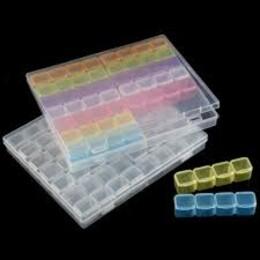 Кутия за съхранение на диамантчета 56 гнезда