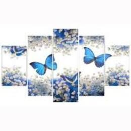 Пеперуди - пет части