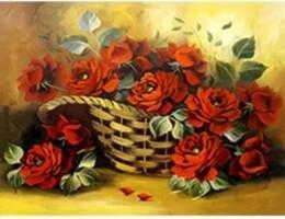 Рози в кошница 30/30 см