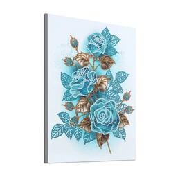 Сини рози 30/40 см