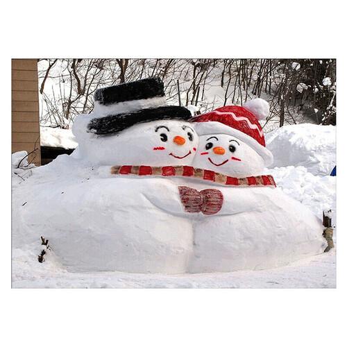 Снежни човеци 40/30 см В наличност