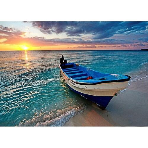 Лодка на брега 40/30 см