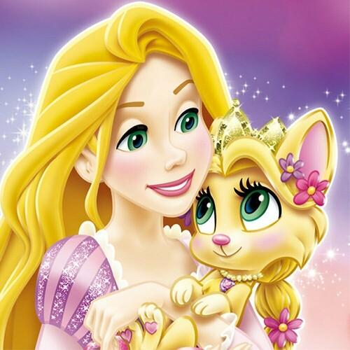 Принцеса и коте 30/30 см