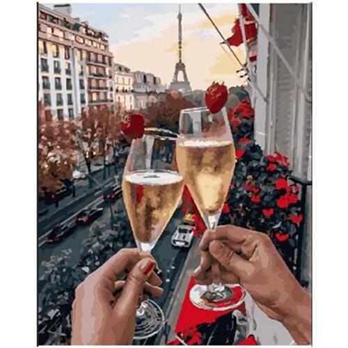 Романтика в Париж 30/40 см