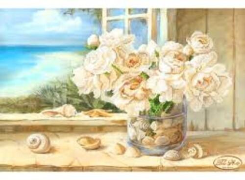 Ваза с рози