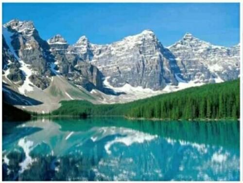 Езеро в планината