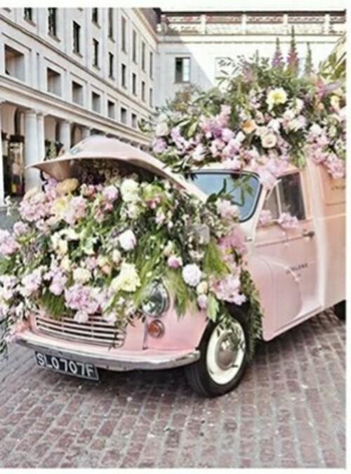Романтика от цветя  30/40 см