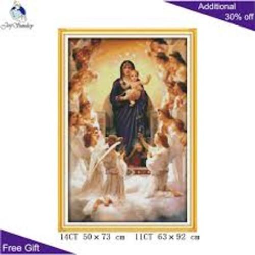 Дева Мария и сина и 50/73 см