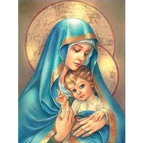 Богородица с младенеца 30/40 см