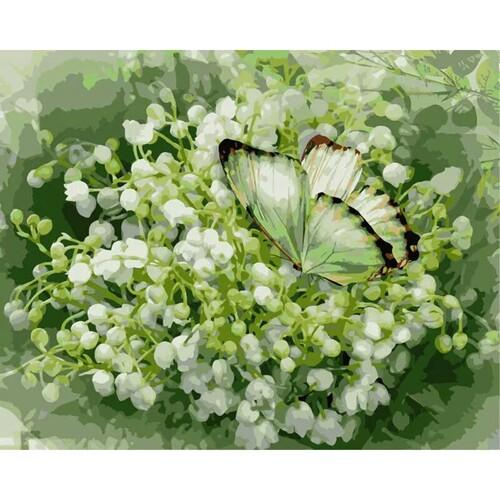 Момина сълза и пеперуда 40/30 см