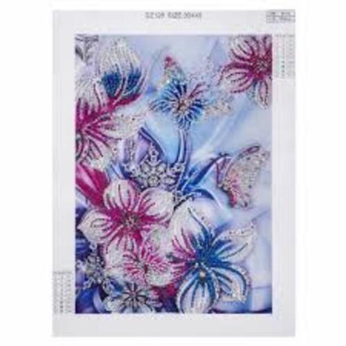 Цветя и пеперуди 24/34 см