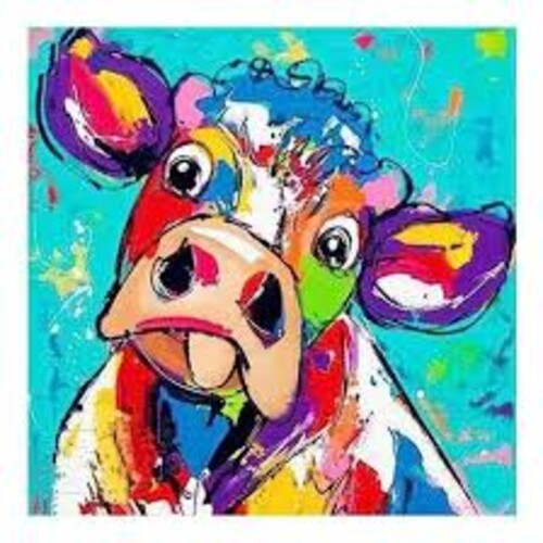 Весела крава 30/30 см
