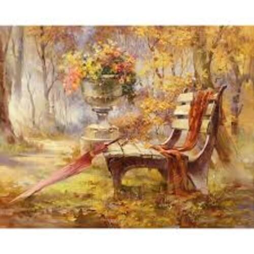 Есен в парка 50/40 см