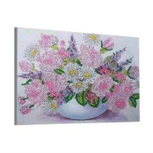 Ваза с цветя 40/30 см