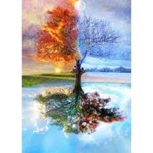 Дървото на сезоните 40/50 см
