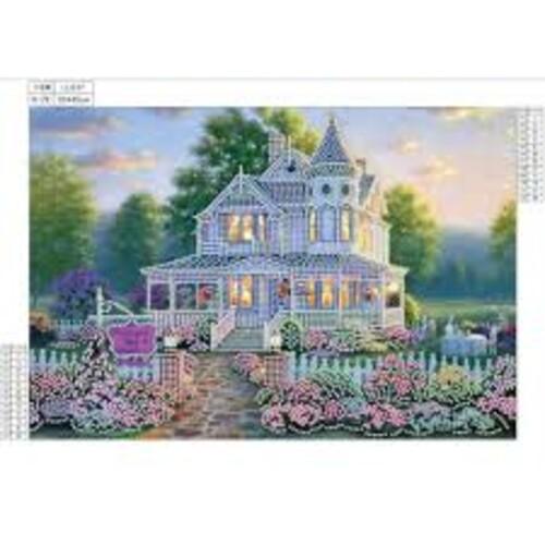 Красива къща 35/45 см