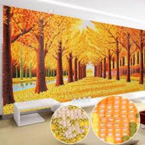 Златна есен в парка  120/47 см