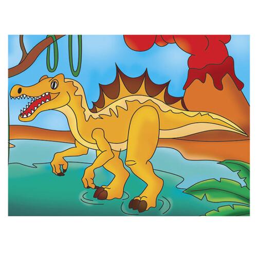 Пъзел за оцветяване, Спинозавър