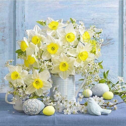 Пролетни цветя 40/40 см