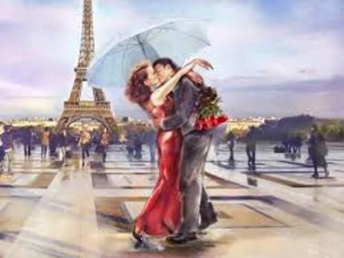 Романтика в Париж 50/40 см