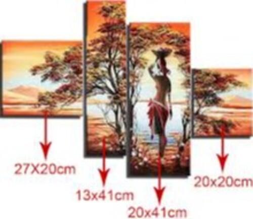 Африканка модел от 4 части