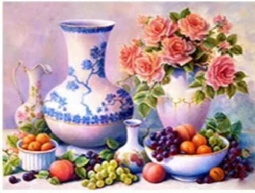 Цветя и плодове 30/30 см