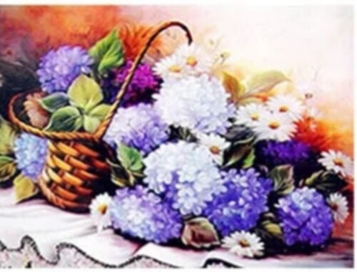 Пролетни цветя  30/30 см