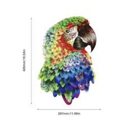 Папагал Ара - дървен пъзел от 125 части
