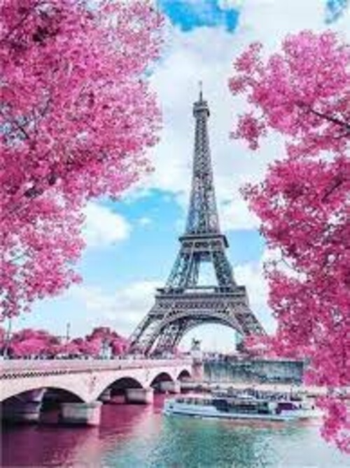 Париж 40/50 см