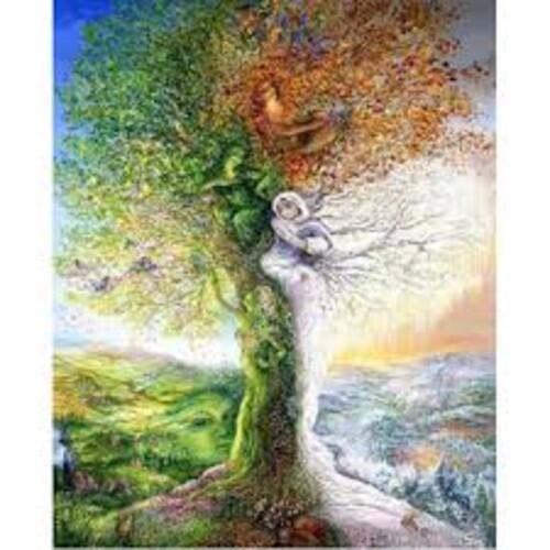 Дървото на сезоните 50/60 см