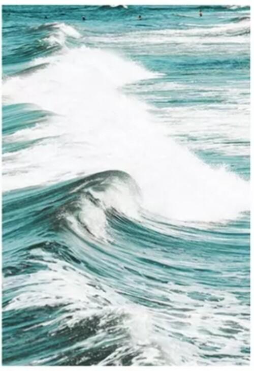 Морска вълна 40/50 см