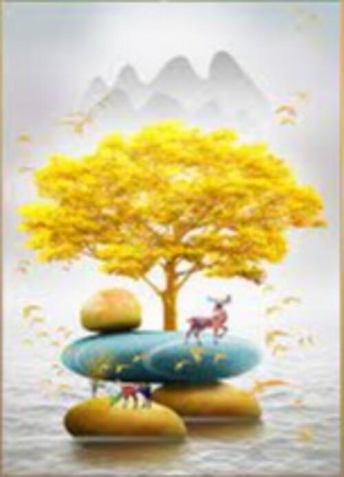Златно дърво 30/45 см