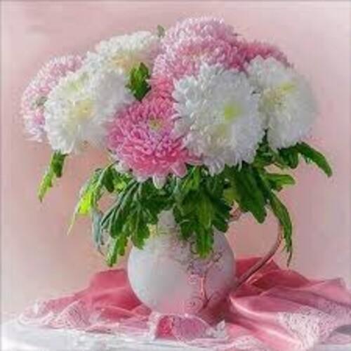 Ваза с цветя 25/25 см
