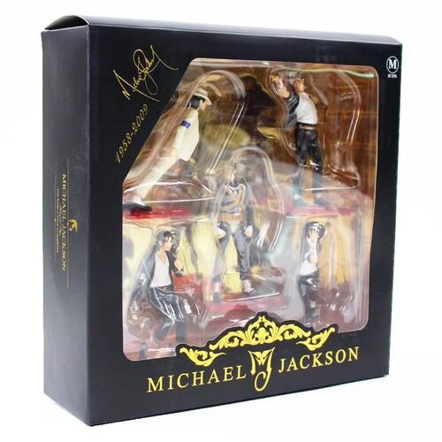 5 Фигурки на Майкъл Джексън