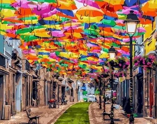 Летящите чадъри  50/40 см