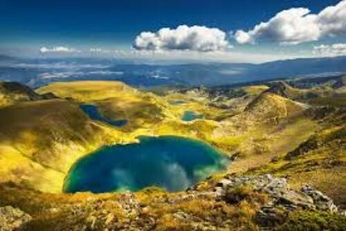 Красиви места от България - Седемте Рилски езера  50/40 см