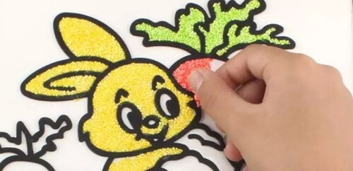 Оцветяване с мъниста